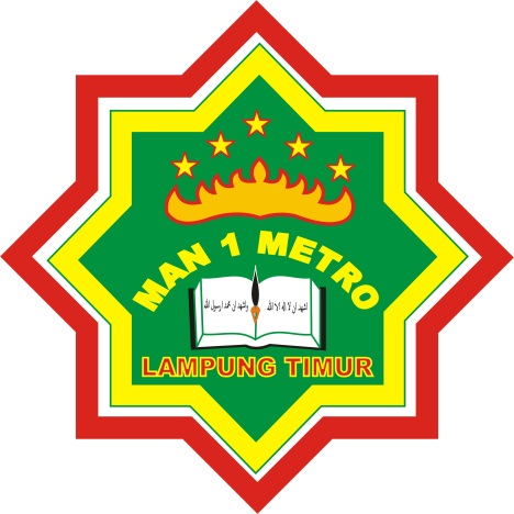 Logo MAN 1 Metro Lampung Timur